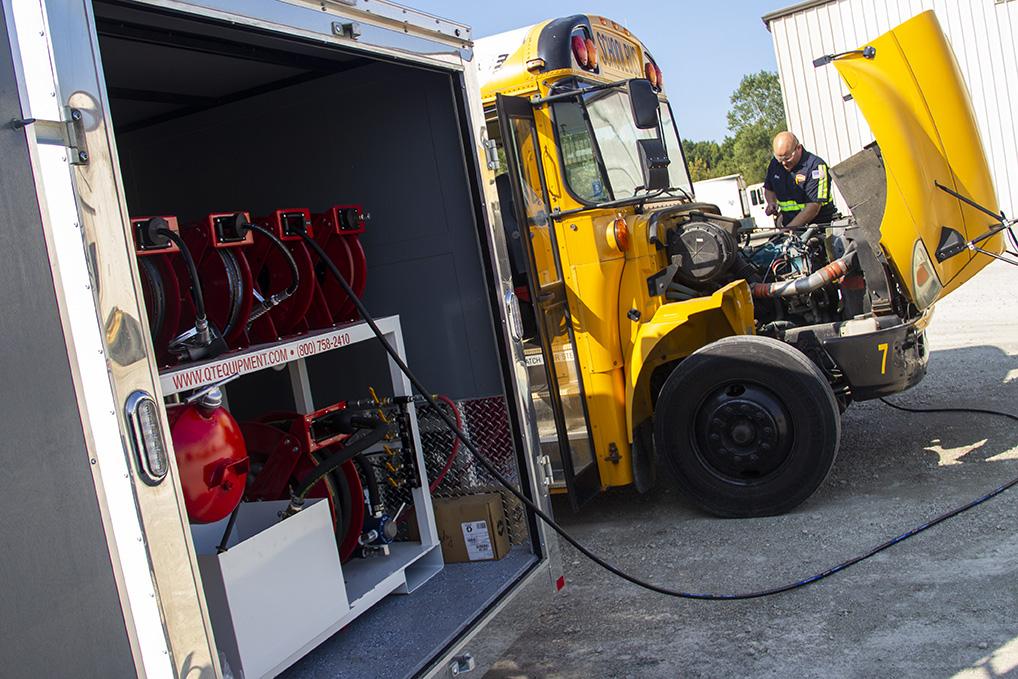 Mobile Fleet Maintenance