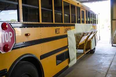 School Bus Body Work